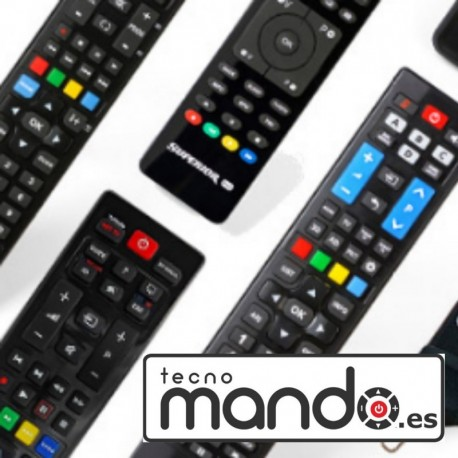 DUAL - MANDO A DISTANCIA PARA TELEVISIÓN DUAL - MANDO PARA TELEVISOR COMPATIBLE CON DUAL