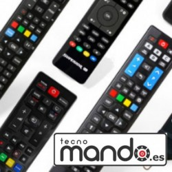 TECHNOSONIC - MANDO A DISTANCIA PARA TELEVISIÓN TECHNOSONIC - MANDO PARA TELEVISOR COMPATIBLE CON TECHNOSONIC