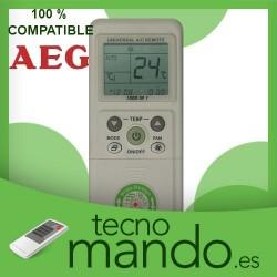 AEG - MANDO A DISTANCIA AIRE ACONDICIONADO  100% COMPATIBLE
