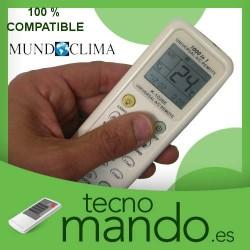 MUNDOCLIMA - MANDO A DISTANCIA AIRE ACONDICIONADO 100% COMPATIBLE