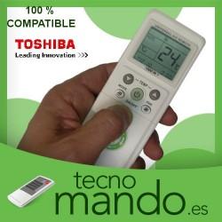 TOSHIBA - MANDO A DISTANCIA AIRE ACONDICIONADO 100% COMPATIBLE