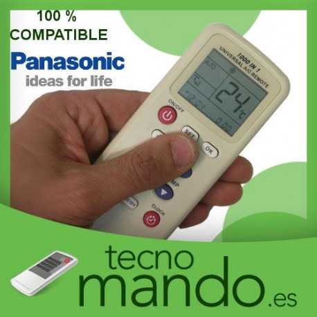 PANASONIC - MANDO A DISTANCIA AIRE ACONDICIONADO  100% COMPATIBLE