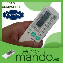 CARRIER - MANDO A DISTANCIA AIRE ACONDICIONADO 100% COMPATIBLE