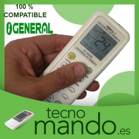 GENERAL - MANDO A DISTANCIA AIRE ACONDICIONADO  100% COMPATIBLE