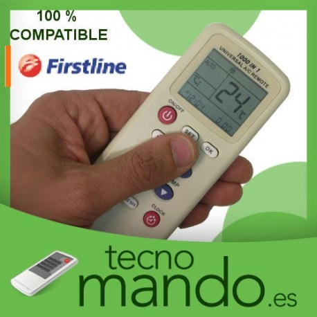 FIRSTLINE - MANDO A DISTANCIA AIRE ACONDICIONADO 100% COMPATIBLE