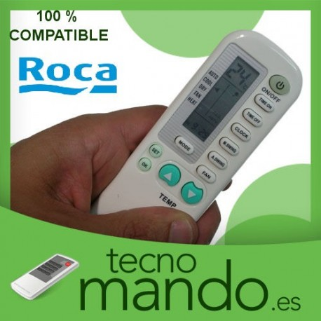 ROCA - MANDO A DISTANCIA AIRE ACONDICIONADO  100% COMPATIBLE