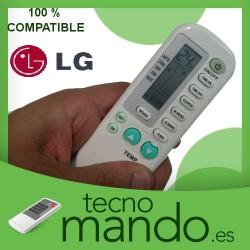 LG - MANDO A DISTANCIA AIRE ACONDICIONADO  100% COMPATIBLE