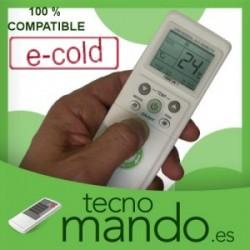 E-COLD - MANDO A DISTANCIA AIRE ACONDICIONADO 100% COMPATIBLE