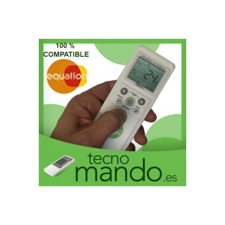 EQUATION - MANDO A DISTANCIA AIRE ACONDICIONADO  100% COMPATIBLE