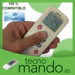 KAYSUN - MANDO A DISTANCIA AIRE ACONDICIONADO  100% COMPATIBLE