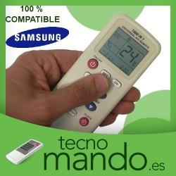 SAMSUNG - MANDO A DISTANCIA AIRE ACONDICIONADO 100% COMPATIBLE