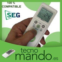 SEG - MANDO A DISTANCIA AIRE ACONDICIONADO  100% COMPATIBLE