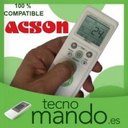 ACSON - MANDO A DISTANCIA AIRE ACONDICIONADO  100% COMPATIBLE