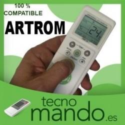 ARTROM - MANDO A DISTANCIA AIRE ACONDICIONADO  100% COMPATIBLE
