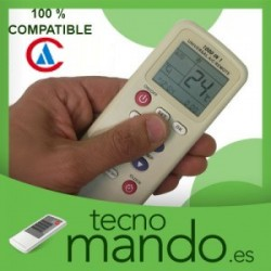 AIRCLIMA - MANDO A DISTANCIA AIRE ACONDICIONADO  100% COMPATIBLE