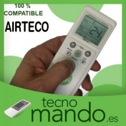 AIRTECO - MANDO A DISTANCIA AIRE ACONDICIONADO 100% COMPATIBLE