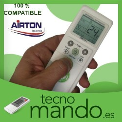 AIRTON - MANDO A DISTANCIA AIRE ACONDICIONADO  100% COMPATIBLE
