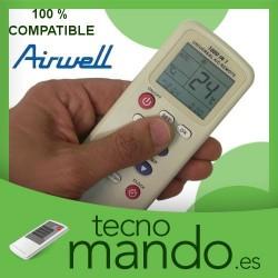 AIRWELL - MANDO A DISTANCIA AIRE ACONDICIONADO  100% COMPATIBLE