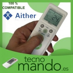 AITHER - MANDO A DISTANCIA AIRE ACONDICIONADO  100% COMPATIBLE