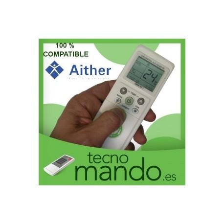 AITHER - MANDO A DISTANCIA AIRE ACONDICIONADO 100% COMPATIBLE