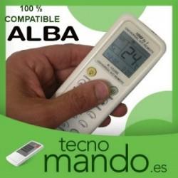 ALBA - MANDO A DISTANCIA AIRE ACONDICIONADO  100% COMPATIBLE