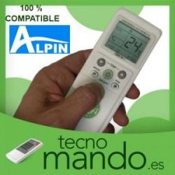 ALPIN - MANDO A DISTANCIA AIRE ACONDICIONADO 100% COMPATIBLE