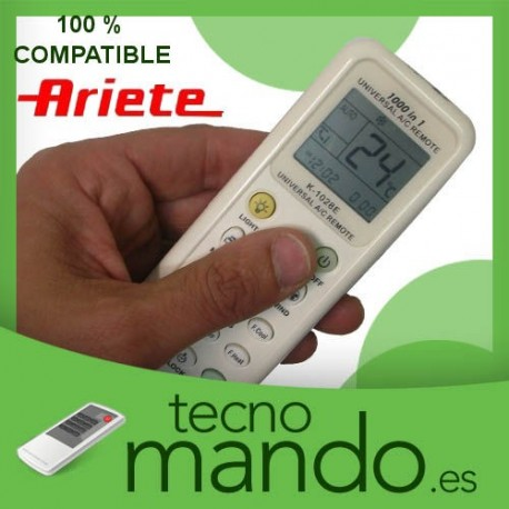 ARIETE - MANDO A DISTANCIA AIRE ACONDICIONADO  100% COMPATIBLE