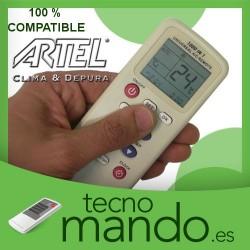 ARTEL - MANDO A DISTANCIA AIRE ACONDICIONADO  100% COMPATIBLE