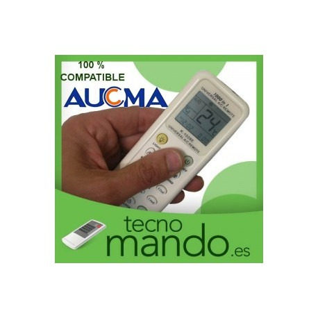 AUCMA - MANDO A DISTANCIA AIRE ACONDICIONADO  100% COMPATIBLE