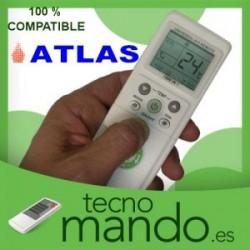 ATLAS - MANDO A DISTANCIA AIRE ACONDICIONADO 100% COMPATIBLE
