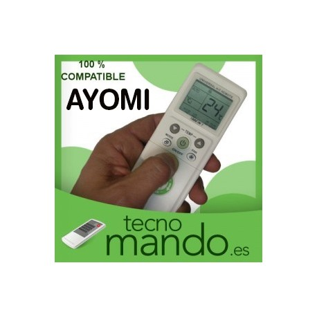 AYOMI - MANDO A DISTANCIA AIRE ACONDICIONADO  100% COMPATIBLE