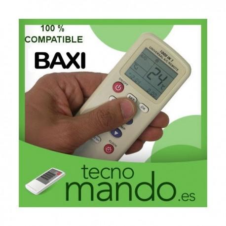 BAXI - MANDO A DISTANCIA AIRE ACONDICIONADO  100% COMPATIBLE