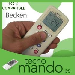 BECKEN - MANDO A DISTANCIA AIRE ACONDICIONADO 100% COMPATIBLE