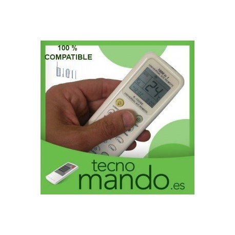 BION - MANDO A DISTANCIA AIRE ACONDICIONADO  100% COMPATIBLE