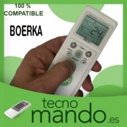 BOERKA - MANDO A DISTANCIA AIRE ACONDICIONADO 100% COMPATIBLE