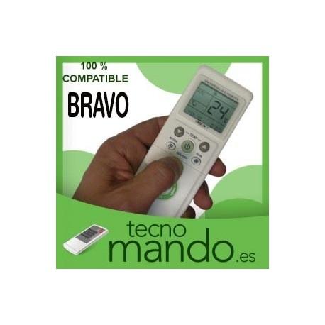 BRAVO - MANDO A DISTANCIA AIRE ACONDICIONADO 100% COMPATIBLE