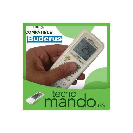 BUDERUS - MANDO A DISTANCIA AIRE ACONDICIONADO 100% COMPATIBLE