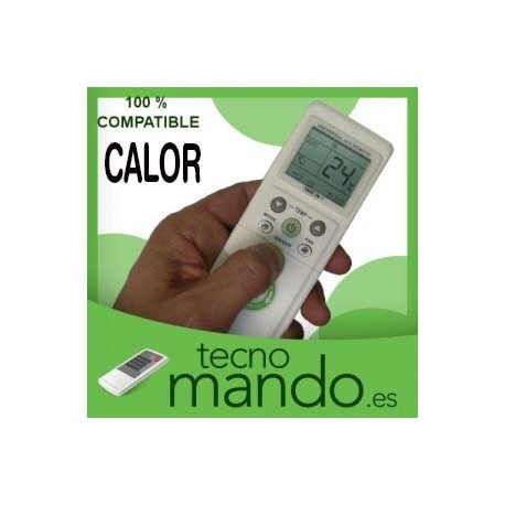 CALOR - MANDO A DISTANCIA AIRE ACONDICIONADO  100% COMPATIBLE
