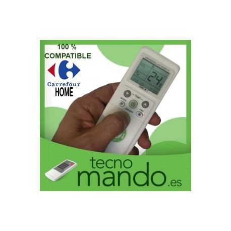 CARREFOUR - MANDO A DISTANCIA AIRE ACONDICIONADO  100% COMPATIBLE