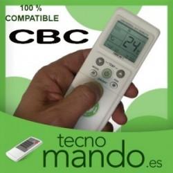 CBC - MANDO A DISTANCIA AIRE ACONDICIONADO  100% COMPATIBLE