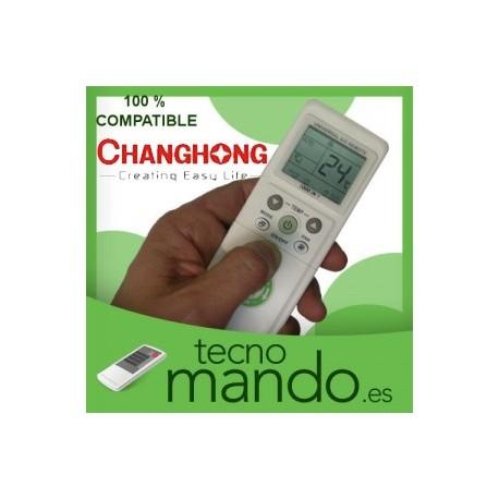 CHANGHONG - MANDO A DISTANCIA AIRE ACONDICIONADO  100% COMPATIBLE