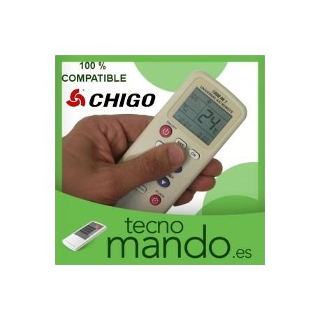 CHIGO - MANDO A DISTANCIA AIRE ACONDICIONADO 100% COMPATIBLE