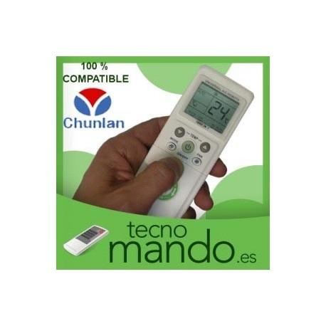 CHUNLAN - MANDO A DISTANCIA AIRE ACONDICIONADO 100% COMPATIBLE