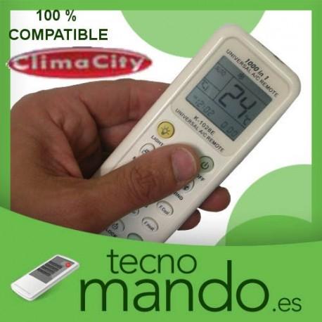 CLIMACITY - MANDO A DISTANCIA AIRE ACONDICIONADO 100% COMPATIBLE