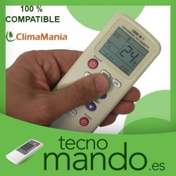 CLIMAMANIA - MANDO A DISTANCIA AIRE ACONDICIONADO 100% COMPATIBLE