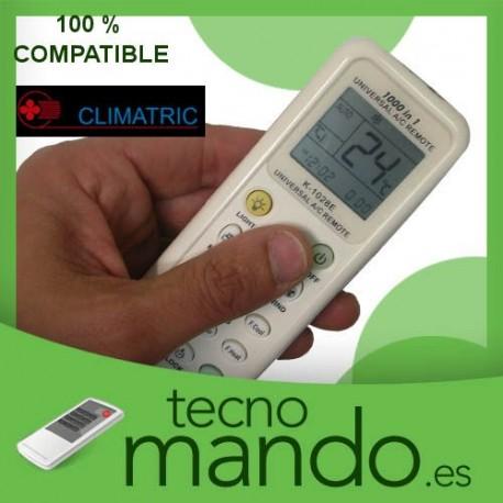CLIMATRIC - MANDO A DISTANCIA AIRE ACONDICIONADO 100% COMPATIBLE