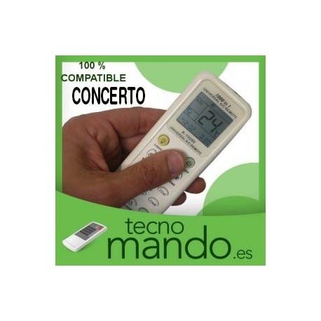 CONCERTO - MANDO A DISTANCIA AIRE ACONDICIONADO  100% COMPATIBLE