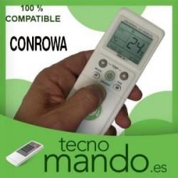 CONROWA - MANDO A DISTANCIA AIRE ACONDICIONADO 100% COMPATIBLE