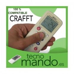 CRAFFT - MANDO A DISTANCIA AIRE ACONDICIONADO  100% COMPATIBLE