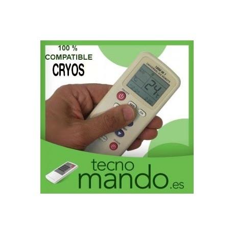 CRYOS - MANDO A DISTANCIA AIRE ACONDICIONADO  100% COMPATIBLE